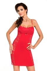 Dámská noční košilka Donna BRIGITTE II red