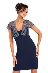 Dámská noční košilka Donna GLORIA dark blue