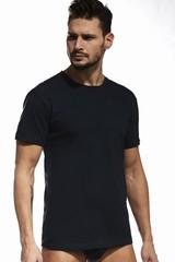 Pánské triko Cornette PERFECT 202 černé
