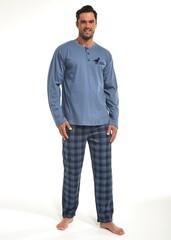 Pánské pyžamo Cornette dlouhé - 123/140