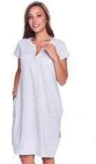 Dámská noční košile Drnap 9300-šedá