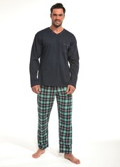 Pánské pyžamo Cornette dlouhé - 122/136