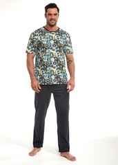 Pánské pyžamo Cornette dlouhé - 194/141