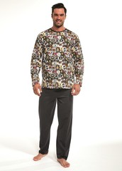 Pánské pyžamo Cornette dlouhé - 321/149