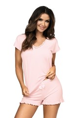 Dámské noční pyžamo Donna AGNES 1/2 pink