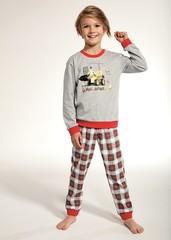 Chlapecké pyžamo Cornette KIDS Bulldozer - 593/88