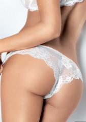 Dámské kalhotky Lormar Prestige brazilky bianco