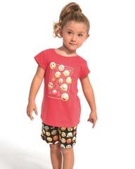 Dívčí pyžamo Cornette KIDS Emoticon - 787/64