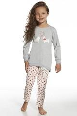 Dívčí pyžamo Cornette KIDS Dogs - 590/58