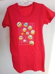 Dívčí noční košilka Emoticon KIDS 548
