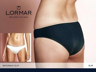 Dámské kalhotky Lormar Slip Nat nero