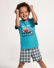 Chlapecké pyžamo Cornette KIDS Car transport - 789/80