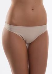 Dámské kalhotky Lormar Carrie brazilky nudo