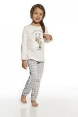 Dívčí pyžamo Cornette KIDS Rudolf - 974/60