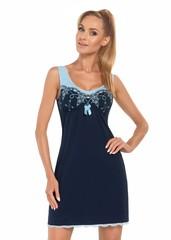 Dámská noční košilka Donna KARINA dark blue