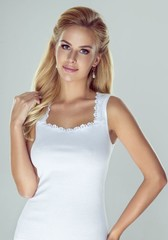 Dámská spodní košilka Eldar Rozalia - bílá