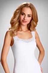 Dámská spodní košilka Eldar Aretta - bílá