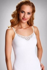 Dámská spodní košilka Julia - bílá