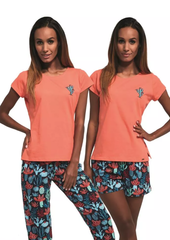Dámské pyžamo Cornette - Cactus 3-pack 665/173