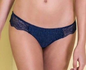 Dámské kalhotky Lormar DOT 1020 - bluette (modrá)
