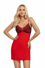 Dámská noční košilka Donna PATRIZIA červená