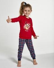 Dívčí pyžamo Cornette KIDS REINDEER 594/130