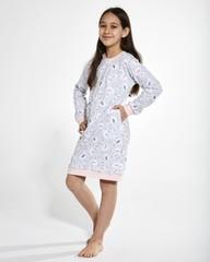Dívčí košilka Cornette SWAN 3 -397/137