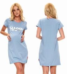 Dámská kojící košile Drnap 9504 modrá