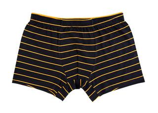 Pánské boxerky Donella 71707 černé s proužkem