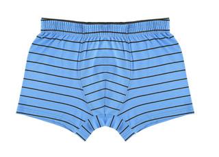 Pánské boxerky Donella 71707 modré s černým proužkem