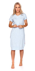 Dámská mateřská košile Drnap 9300-světle modrá