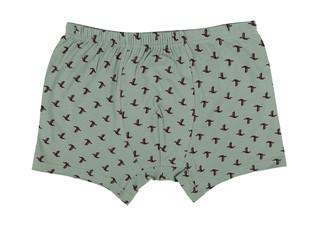 Pánské boxerky Donella 81842 zelené s potiskem