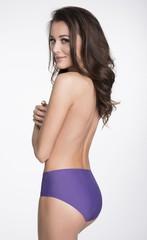 Dámské kalhotky Julimex Simple fialová