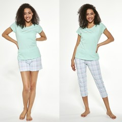 Cornette 665/282 Let me sleep - Dámské pyžamo 3 PACK