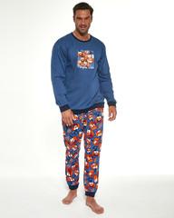 Cornette 456/174 Pumpkin - Pánské pyžamo, dlouhé