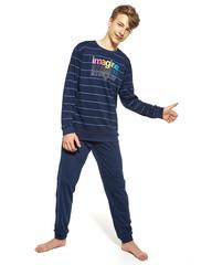 Cornette F&Y 989/40 Imagine -Chlapecké pyžamo, modré, dlouhé