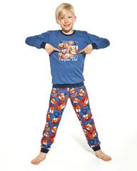 Cornette 976/123 Pumpkin - Chlapecké pyžamo, dlouhé