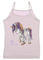 Dívčí košilka Donella 435015 fialová