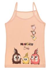 Dívčí košilka Donella 4371TC meruňkové