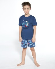 Chlapecké pyžamo Cornette Blue dock 790/96
