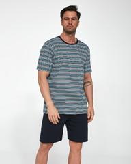 Pánské bavlněné pyžamo Cornette krátké 338/21