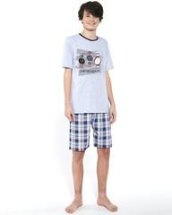 Chlapecké pyžamo Cornette Time to travel F&Y 551/34