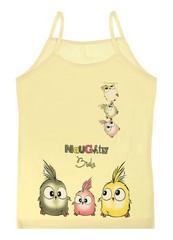 Dívčí košilka Donella 4371TC žlutá
