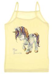 Dívčí spodní košilka Donella 435015 žlutá