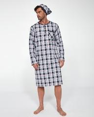 Pánská noční košile Cornette dl. 110/06 654502 NADMĚR