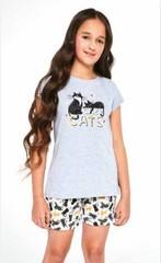 Dívčí pyžamo Cornette Cats 787/87