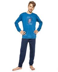 Cornette F&Y 999/41 Bronx -Chlapecké pyžamo, modré, dlouhé