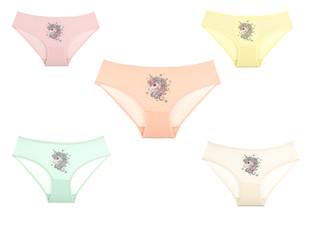 Dívčí kalhotky Donella 4171PU 5-PACK