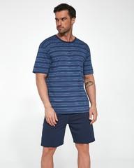 Pánské bavlněné pyžamo Cornette krátké 338/19