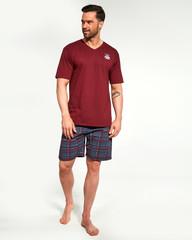 Pánské pyžamo Cornette krátké 326-122